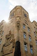 Kurfürst-Friedrich-Schule, Jugendstil, Mannheim, Baden-Württemberg, Deutschland
