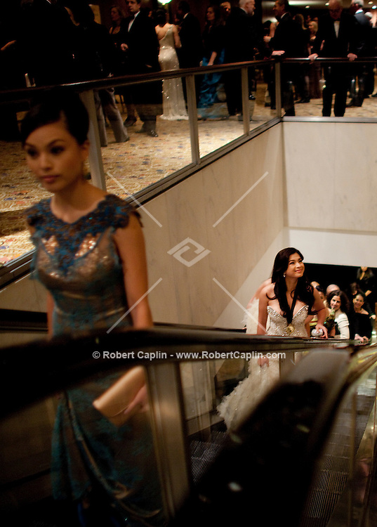 Angel Locsin (Philippines) arrives at the 37th International Emmy Awards Gala in New York on Monday, November 23, 2009.  ***EXCLUSIVE***