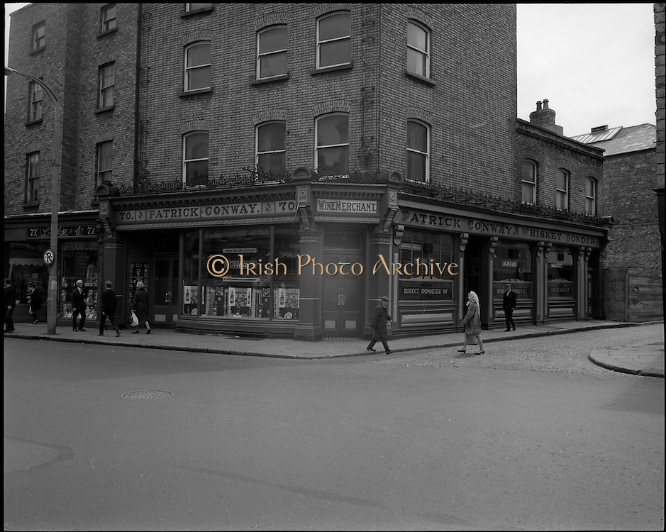 01/07/1969<br /> 07/01/1969<br /> 01 July 1969<br /> Pubs in and about Dublin. Patrick Conways<br /> 70 Parnell Street<br /> Dublin 1