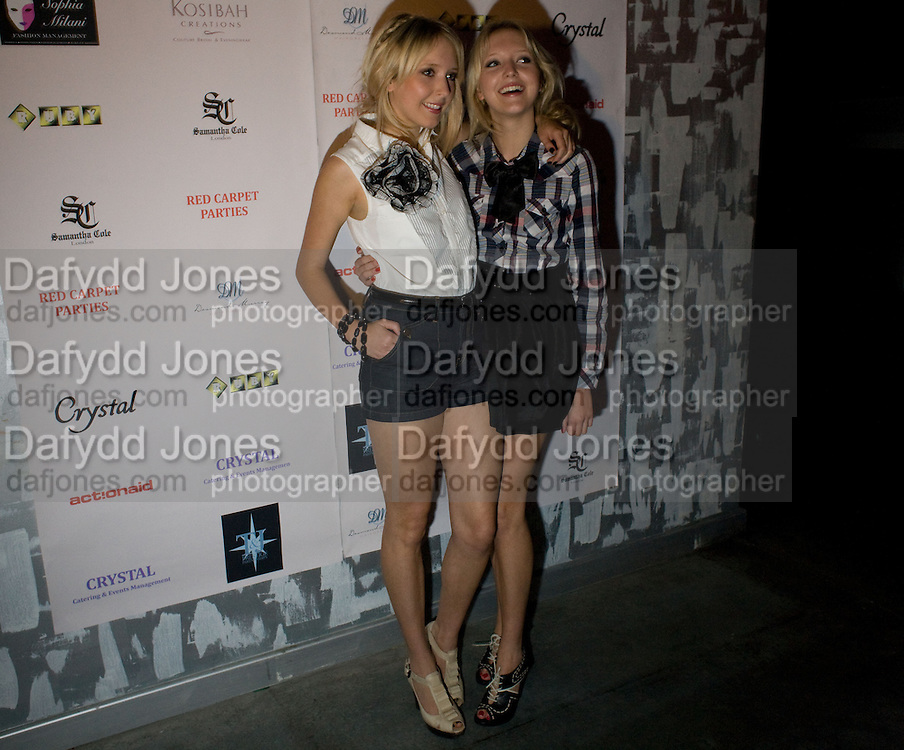 BIG BROTHERS; SAM MARCHANT; AMANDA MARCHANT, Action Aid UK - charity fashion show - celeb update<br />