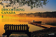 PRODUCT: Magazine (text & photos)<br /> TITLE: Discovering Canada<br /> CLIENT: Outdoor Photography Canada