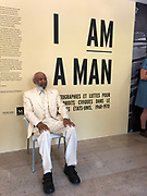 October 16,2018- Montpellier France--- I am A Man Civil Rights Photography exhibition curated by William Ferris and the University of North Carolina opening in  Montpellier France Photo&copy; Suzi Altman.  <br />