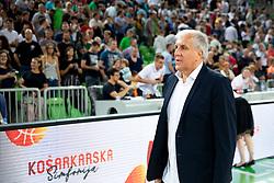 Zeljko Obradovic during basketball event Kosarkaska simfonija - last offical basketball match of Bostjan Nachbar and Sani Becirovic, on August 30, 2018 in Arena Stozice, Ljubljana, Slovenia. Photo by Urban Urbanc / Sportida