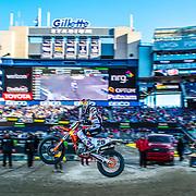 April 21, 2018; Foxborough, MA. USA; Monster Energy Supercross - Foxborough Credit: William Hauser-FOX SPORTS