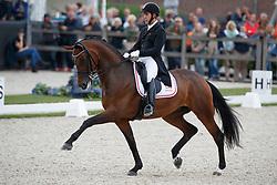 Jurado Lopez Severo Jesus, ESP, Fiontini<br /> Longines FEI/WBFSH World Breeding Dressage Championships for Young Horses - Ermelo 2017<br /> © Hippo Foto - Dirk Caremans<br /> 03/08/2017