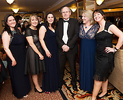 At the SCSI, (Society of Chartered Surveyors Ireland) - Western Region Annual Dinner 2016 in the Ardilaun Hotel Galway were Irene Hayden, Catherine O'Regan , Eilish McMannnamon, Jim O' Connor, Mary Rogers  and Fiona Watson GMIT   . Photo:Andrew Downes, xpousre