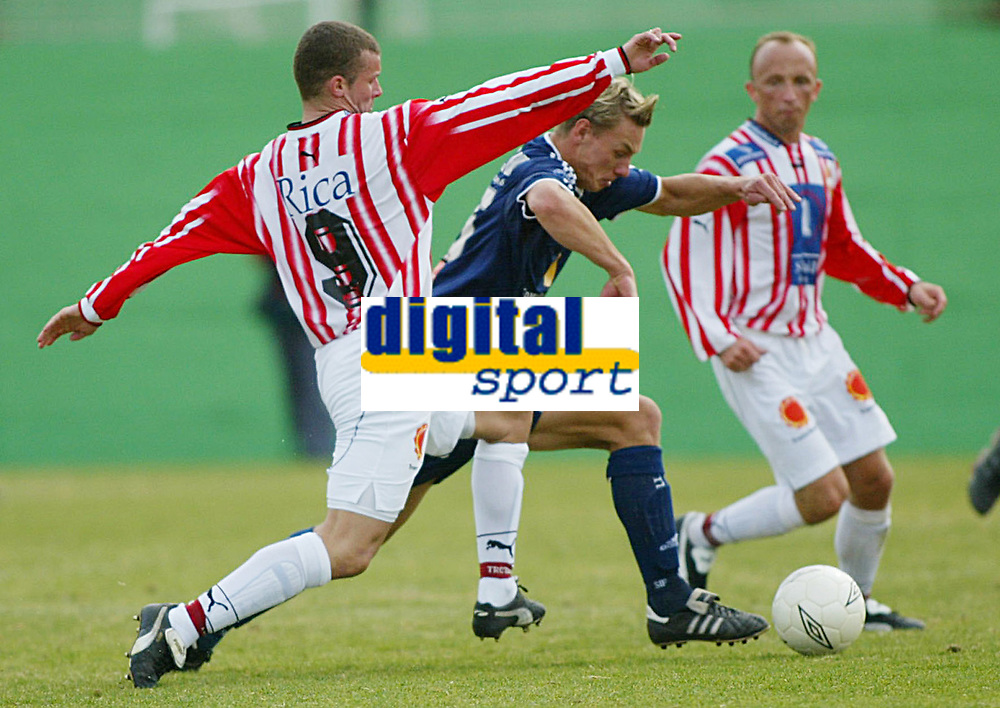 Fotball - Treningsleir La Manga 11. mars 2002. Str&oslash;msgodset - Troms&oslash;. Lasse Olsen.<br /> <br /> Foto: Andreas Fadum, Digitalsport