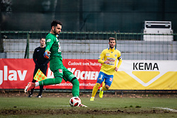 Goalkeeper of NK Celje Rozman during football match between NŠ Mura and NK Celje in 18th Round of Prva liga Telekom Slovenije 2018/19, on December 2, 2018 in Fazanerija, Murska Sobota, Slovenia. Photo by Blaž Weindorfer / Sportida