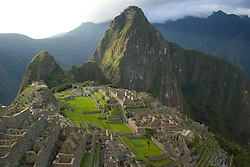 Machu Picchu, ruins of Inca city, Peru, South America
