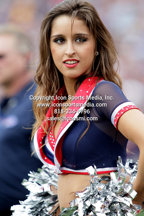 12 September 2010: The Buffalo Jills cheer for the Buffalo Bills during a game against the Miami Dolphins at Ralph Wilson Stadium in Orchard Park, NY.