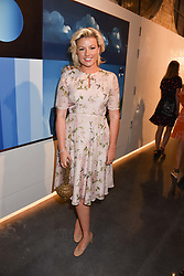 Natalie Rushdie at the launch of Unit London Mayfair and Ryan Hewett The Garden Preview, Hanover Square, London, England. 26 June 2018.