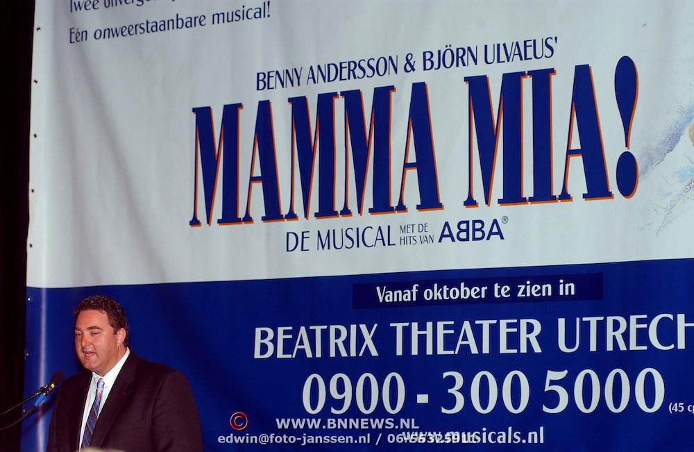 Perspresentatie Mamma Mia, Erwin van Lambaart
