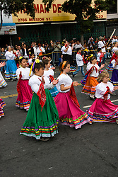 California: San Francisco Carnaval festival parade in the Mission District. Photo copyright Lee Foster. Photo # 30-casanf81327