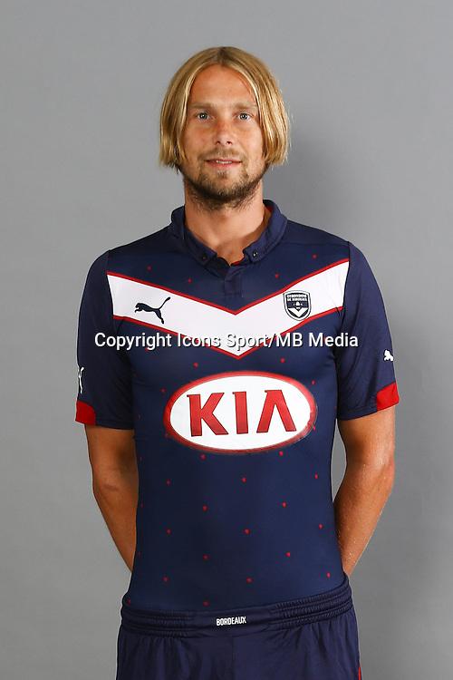 Jaroslav Plasil - 04.10.2014 - Portrait Officiel - Bordeaux<br /> Photo : Lelann / Icon Sport