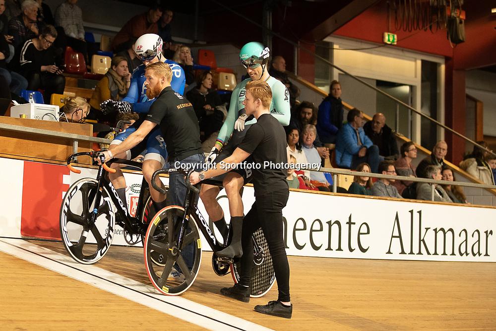27-12-2019: Wielrennen: NK Baan: Alkmaar <br />Theo Bos, Jeffrey Hoogland