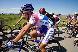 Simon Spilak  (SLO) of Lampre - N.G.C. at 2nd stage of Tour de Slovenie 2009 from Kamnik to Ljubljana, 146 km, on June 19 2009, Slovenia. (Photo by Vid Ponikvar / Sportida)