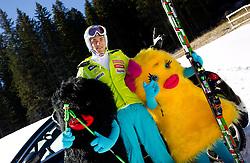 Miha Kuerner during media day of Slovenian Alpine Ski team on October 17, 2011, in Rudno polje, Pokljuka, Slovenia. (Photo by Vid Ponikvar / Sportida)