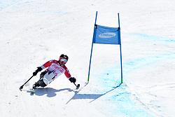 MORII Taiki LW11 JPN competing in ParaSkiAlpin, Para Alpine Skiing, Super G at PyeongChang2018 Winter Paralympic Games, South Korea.