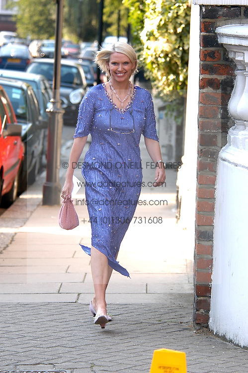 ANNEKA RICE at Sir David & Lady Carina Frost's annual summer party held in Carlyle Square, London on 6th July 2004.