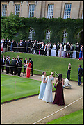 EMMA FOX; IONA DAVY KATHERINE MOORE, The Tercentenary Ball, Worcester College. Oxford. 27 June 2014