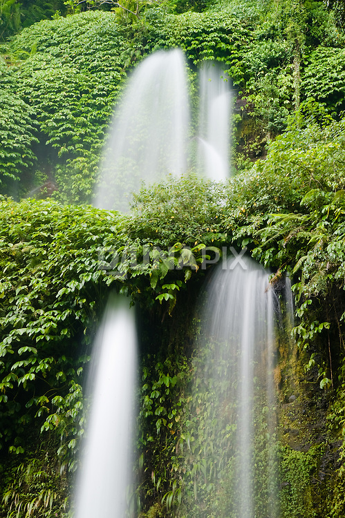Lombok Waterfall, near Mount Rinjani