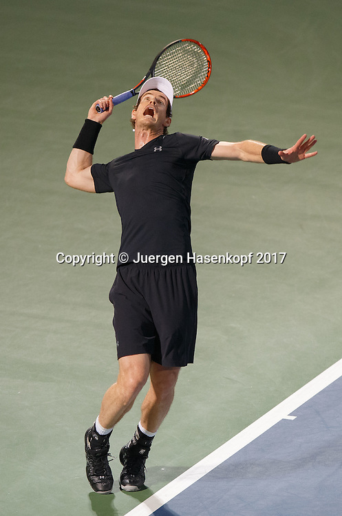 Andy Murray Gbr Tennis Dubai Duty Free Tennis Championships