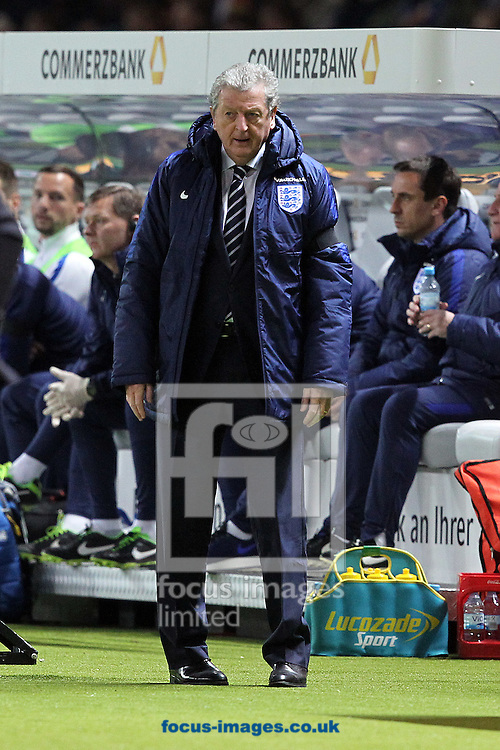 England Manager Roy Hodgson during the International Friendly match at Olympiastadion Berlin, Charlottenburg-Wilmersdo<br /> Picture by Paul Chesterton/Focus Images Ltd +44 7904 640267<br /> 26/03/2016