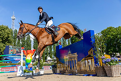 BRUYNSEELS Niels (BEL), Delux van T & L<br /> Berlin - Global Jumping Berlin 2018<br /> CSI5* Championat der Deutschen Kreditbank AG von Berlin<br /> 29. Juli 2018<br /> © www.sportfotos-lafrentz.de/Stefan Lafrentz