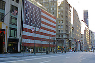 Months after September 11, 2001, patriotism was still on display in New York.