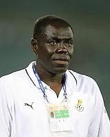 Fussball International U17 WM  Trinidad und Tobago 1-4  Ghana GHA Trainer Sellas Tetteh