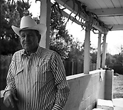 Donny Whittle, a descendant of one of Calaveras County's oldest ranching families, at his home in Angels Camp.