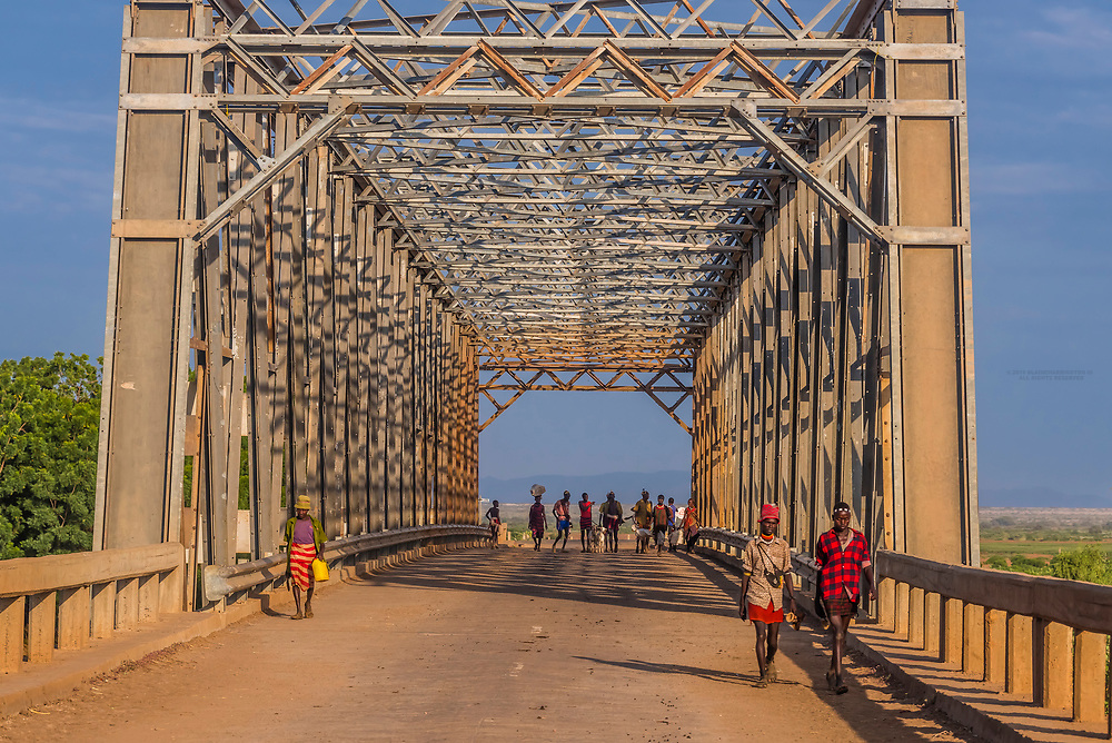 The Omo River Bridge, Omo Valley, Southern Nations Nationalities and People's Region, Ethiopia