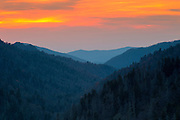 Morton Overlook Sunset <br /> <br /> Available sizes:<br /> 18&quot; x 12&quot; print or canvas print<br /> <br /> See Pricing page for more information Also available as a mousepad or greeting cards.