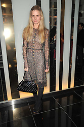 LAURA BAILEY at a party to celebrate the 15th birthday of Vogue.com held at W Hotel, Leicester Square, London W1 on 17th February 2011.