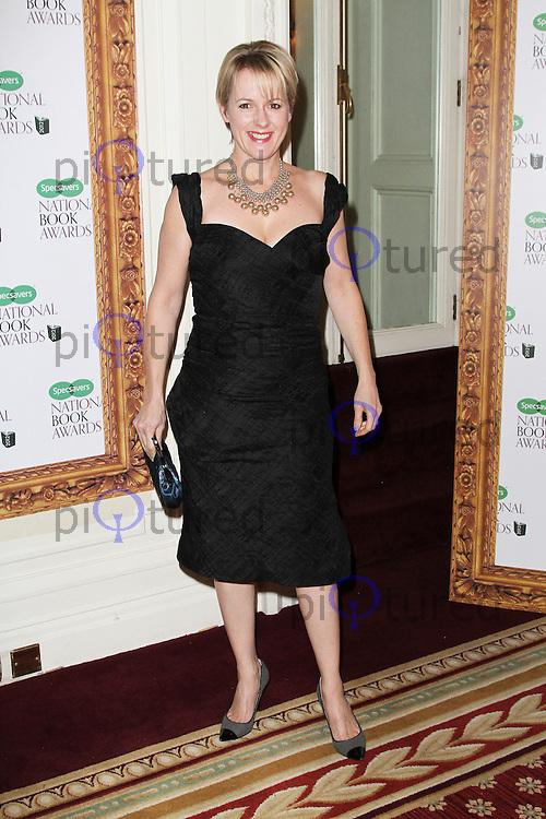 LONDON - DECEMBER 04: JoJo Moyes attended the Specsavers National Book Awards at the Mandarin Oriental Hyde Park, London, UK. December 04, 2012. (Photo by Richard Goldschmidt)