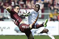 Victor Ibarbo Roma, Nikola Mksimovic Torino (R) <br /> Torino 12-04-2015 Stadio Olimpico, Football Calcio Serie A Torino - Roma Foto Image Sport / Insidefoto