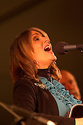 Kathy Matea at Mountain Stage and Unplugged at North House Folk School  Grand Marais MN photographed by Stephan Hoglund