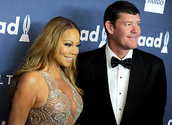 Mariah Carey and James Packer attend the 27th Annual GLAAD Media Awards at The Waldorf Astoria on May 14, 2016 in New York City, NY, USA. Photo y Dennis Van Tine/ABACAPRESS.COM  | 546808_020 New York City Etats-Unis United States