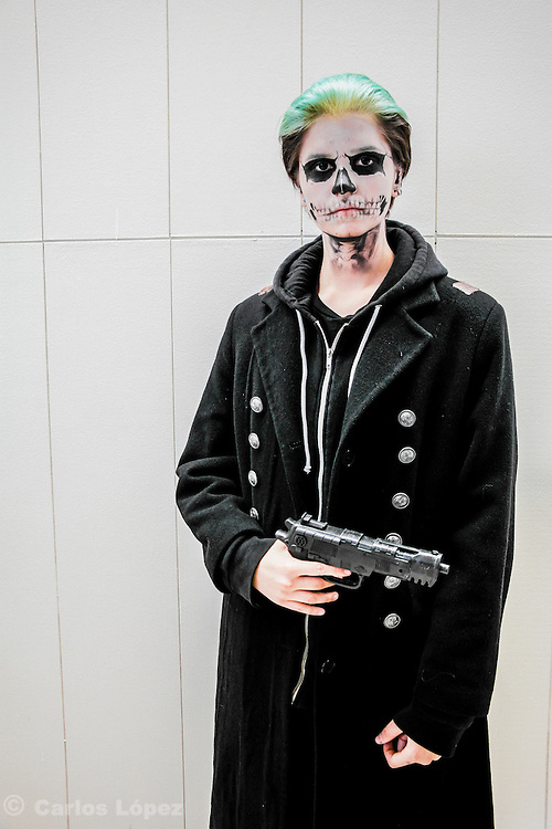 Tate from a American horror story. Cosplayer at Animefest 2015 in the city of Brno, czech republic.