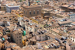 Aug. 22, 2012 - Aerial view of old town, Florence, Italy (Credit Image: © Image Source/ZUMAPRESS.com)