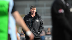 Rob Baxter, Head Coach of of Exeter Chiefs.  - Mandatory byline: Alex Davidson/JMP - 12/03/2016 - RUGBY - Sandy Park -Exeter Chiefs,England - Exeter Chiefs v Newcastle Falcons - Aviva Premiership