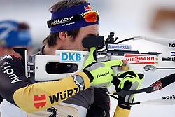 18.12.2011, Biathlonzentrum, Hochfilzen, AUT, E.ON IBU Weltcup, 3. Biathlon, Hochfilzen, Mix Staffel, im Bild Michael Roesch (GER) // during Mixed Relay E.ON IBU World Cup 3th Biathlon, Hochfilzen, Austria on 2011/12/18. EXPA Pictures © 2011, PhotoCredit: EXPA/ Oskar Hoeher