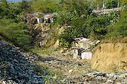 Looking Back La Mosca. A village built on a trash dump.