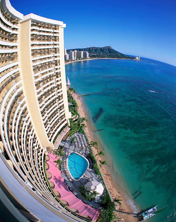 Sheraton Waikiki, Waikiki, Oahu, Hawaii, USA