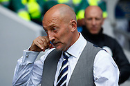 Ian Holloway , Manager of Millwall during the Sky Bet Championship match at The Den, London<br /> Picture by David Horn/Focus Images Ltd +44 7545 970036<br /> 03/05/2014