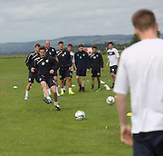 Simon Ferry on the ball - Dundee FC first day back<br />  - &copy; David Young<br /> <br />  - www.davidyoungphoto.co.uk - email: davidyoungphoto@gmail.com