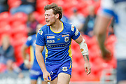Doncaster RLFC interchange Kieran Cross (15)  during the Challenge Cup 2018 match between Doncaster and Featherstone Rovers at the Keepmoat Stadium, Doncaster, England on 22 April 2018. Picture by Simon Davies.