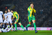 Hal Robson-Kanu of West Bromwich Albion (4) rues a misses chance during the EFL Sky Bet Championship match between Leeds United and West Bromwich Albion at Elland Road, Leeds, England on 1 March 2019.