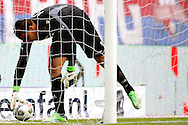 Onderwerp/Subject: Eredivisie<br /> Reklame:  <br /> Club/Team/Country: <br /> Seizoen/Season: 2012/2013<br /> FOTO/PHOTO: Goalkeeper Esteban ALVARADO ( Esteban Alvarado BROWN ) of AZ Alkmaar dejected. (Photo by PICS UNITED)<br /> <br /> Trefwoorden/Keywords: <br /> #03 $94 &plusmn;1355244121349<br /> Photo- &amp; Copyrights &copy; PICS UNITED <br /> P.O. Box 7164 - 5605 BE  EINDHOVEN (THE NETHERLANDS) <br /> Phone +31 (0)40 296 28 00 <br /> Fax +31 (0) 40 248 47 43 <br /> http://www.pics-united.com <br /> e-mail : sales@pics-united.com (If you would like to raise any issues regarding any aspects of products / service of PICS UNITED) or <br /> e-mail : sales@pics-united.com   <br /> <br /> ATTENTIE: <br /> Publicatie ook bij aanbieding door derden is slechts toegestaan na verkregen toestemming van Pics United. <br /> VOLLEDIGE NAAMSVERMELDING IS VERPLICHT! (&copy; PICS UNITED/Naam Fotograaf, zie veld 4 van de bestandsinfo 'credits') <br /> ATTENTION:  <br /> &copy; Pics United. Reproduction/publication of this photo by any parties is only permitted after authorisation is sought and obtained from  PICS UNITED- THE NETHERLANDS