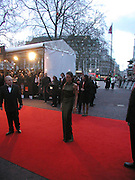 Angelina Jolie, Arriving for the Baftas, Leicester Sq. 23  February 2003. © Copyright Photograph by Dafydd Jones 66 Stockwell Park Rd. London SW9 0DA Tel 020 7733 0108 www.dafjones.com